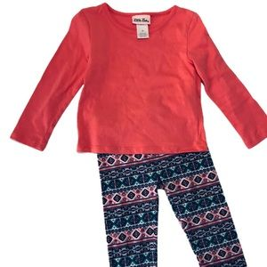 Little Lass Toddler Girls Outfit Size 3T